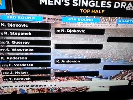 Kevin Anderson through to 4th round
