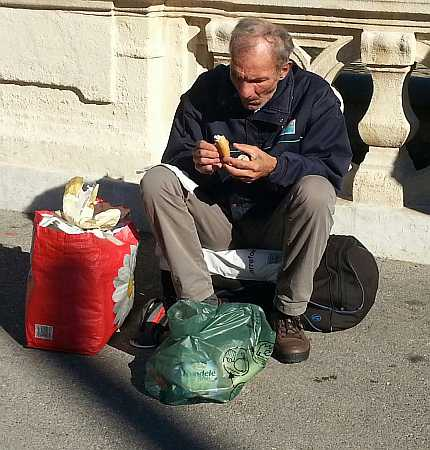 Homeless in Marseilles