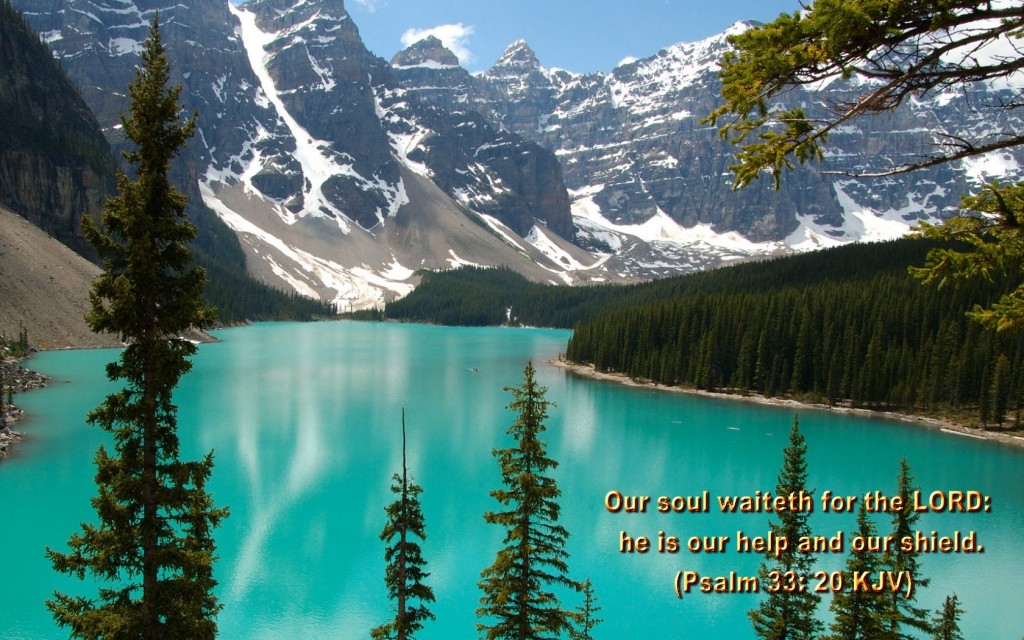 Our soul waiteth for the Lord
