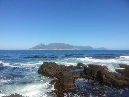Table mountain - so close and yet so far