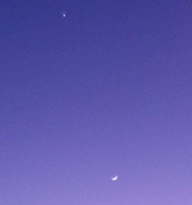 Venus keeping her distance