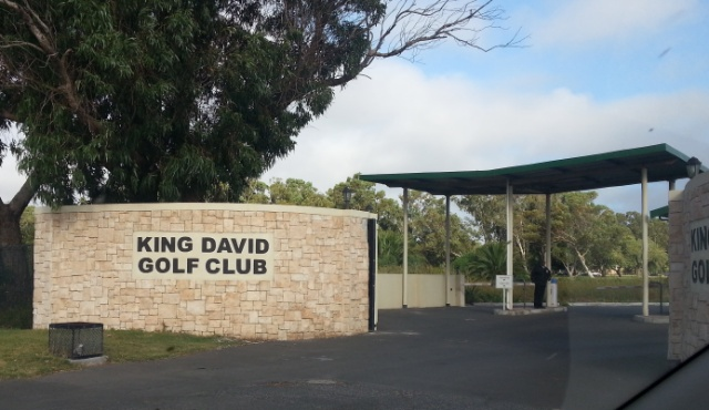 Entrance to King David