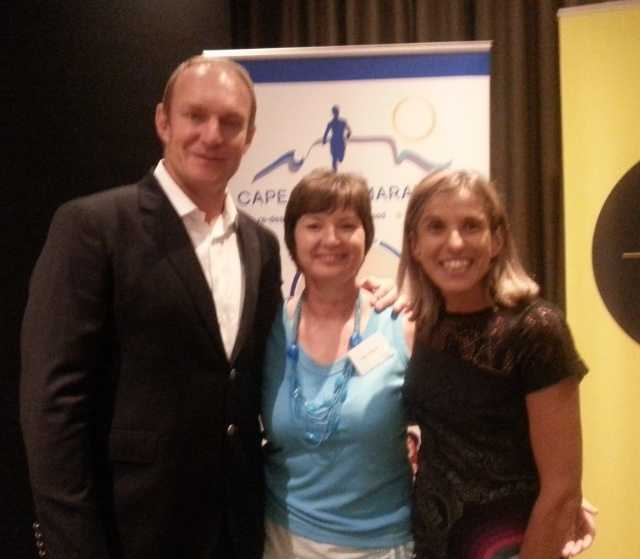 Francois Pienaar and Elana Meyer