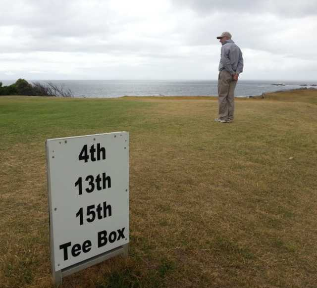 One of the quirks of Simonstown GC