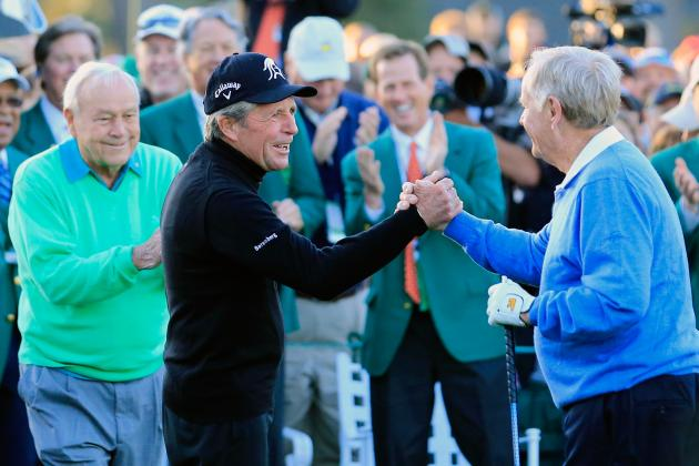 Gary Player at the masters by Darron Cummings