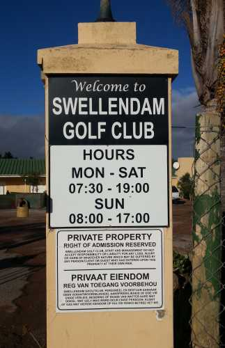 Swellendam Golf Club