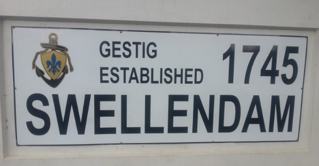 Swellendam sign