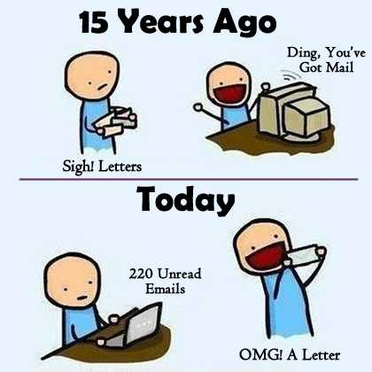 Youve got mail ha ha
