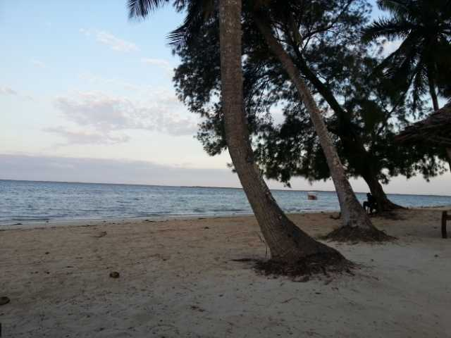 Chwaka bay resort beach