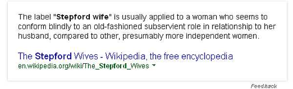 Stepford Wife
