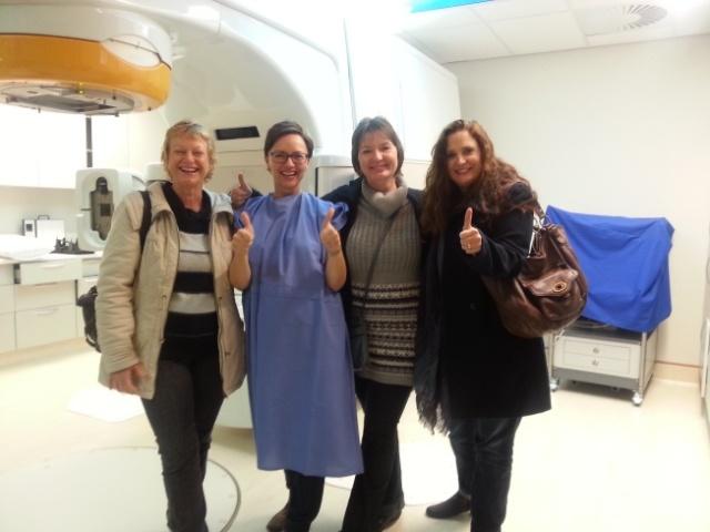 In radiation room