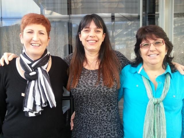 Three lovely birthday ladies