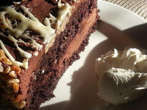 Banting Chocolate cake at Ellies Deli