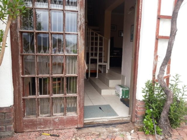 Door before