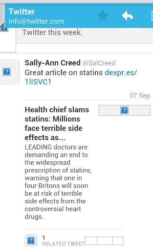 Statins comment