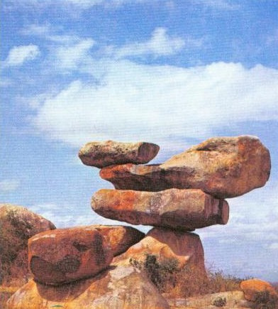 Balancing rocks Epworth Salisbury