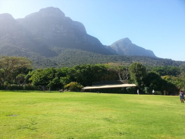 Optical illusion of the Kirstenbosch stage