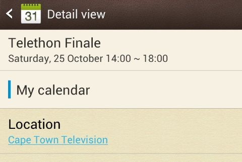 Telethon finale