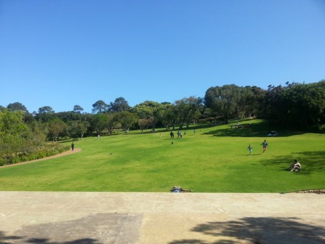 View from the Kirstenbosch stage