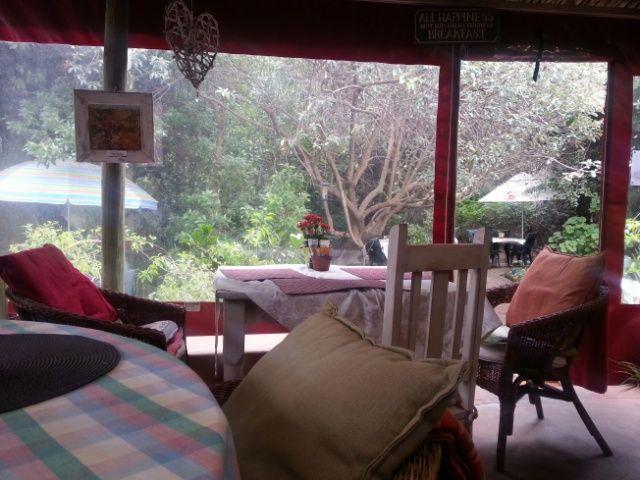 Breakfast view Ellies Deli