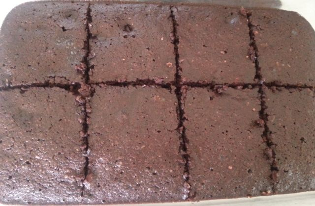 Banting Chocolate brownies picture
