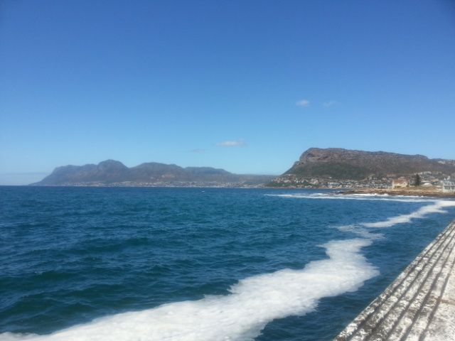 From the KB pier towards Fish Hoek