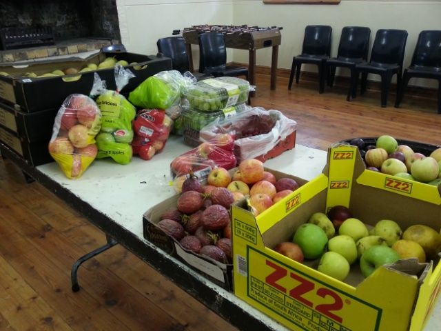 Donations of fruit