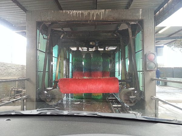 The carwash roller