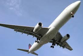 Aeroplane overhead