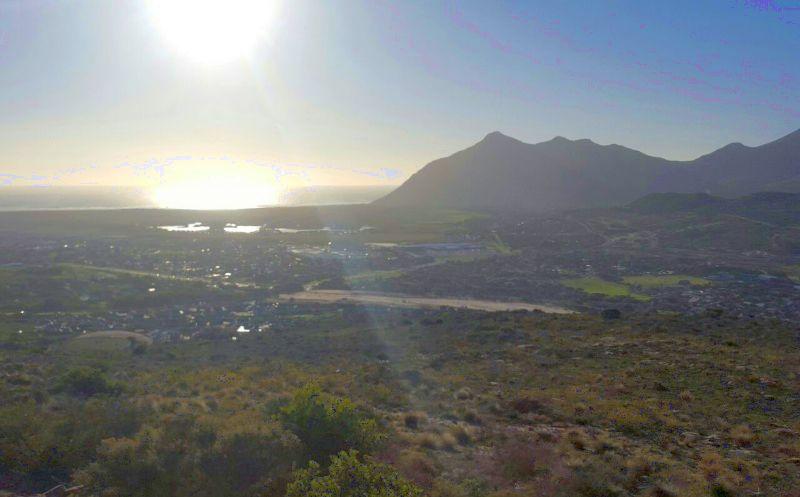 Chapman's peak from the hillside