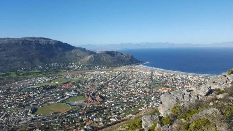 Fish Hoek from the beacon