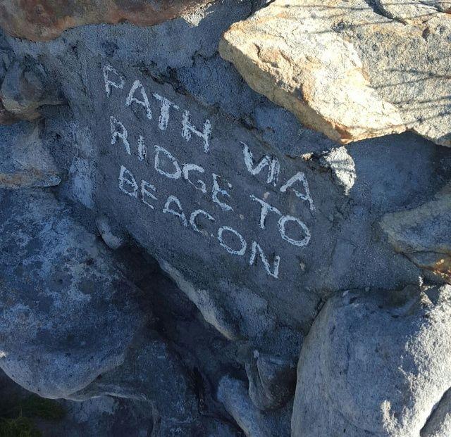 Via the Ridge to the Beacon